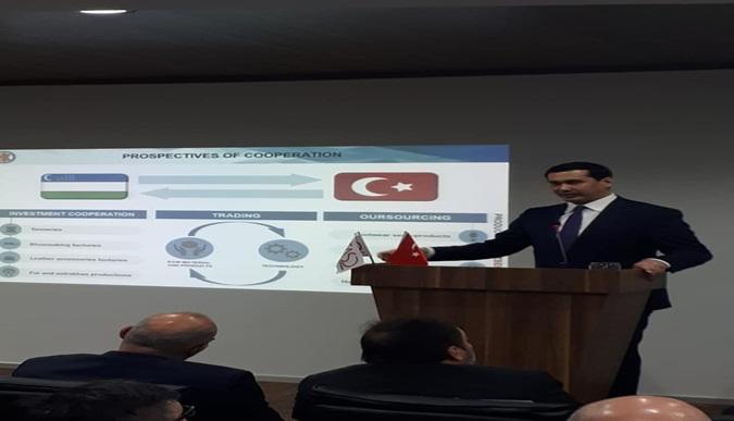 Özbekistan Deri ve Ayakkabı Bakanı Sn. Dr. Sardor Umurzakov ve Özbekistan Yatırım Fırsatları Paneli