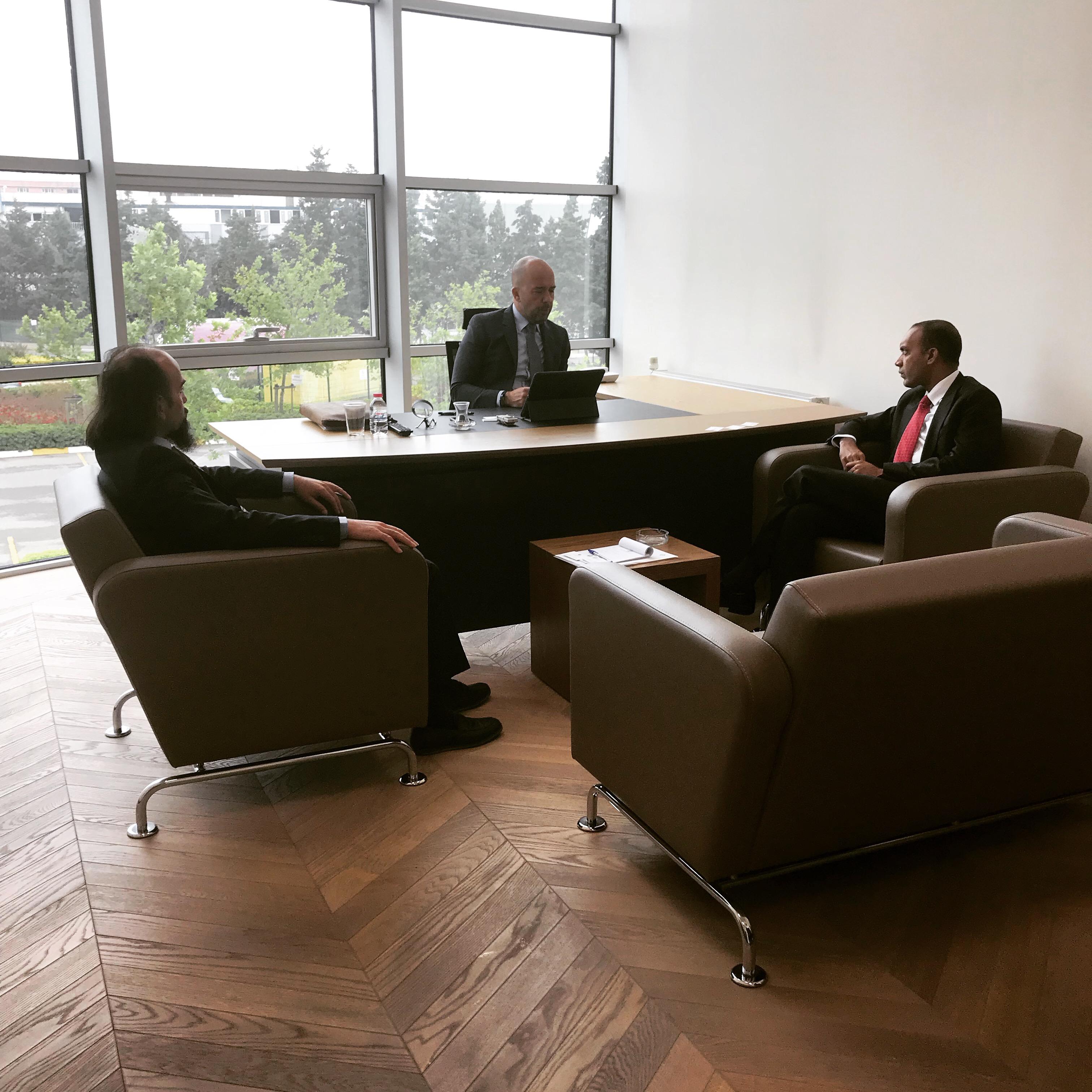 TDSD Başkanı Sayın Burak Uyguner ve Bangladeş Başkonsolosu Mohammad Monirul Islam
