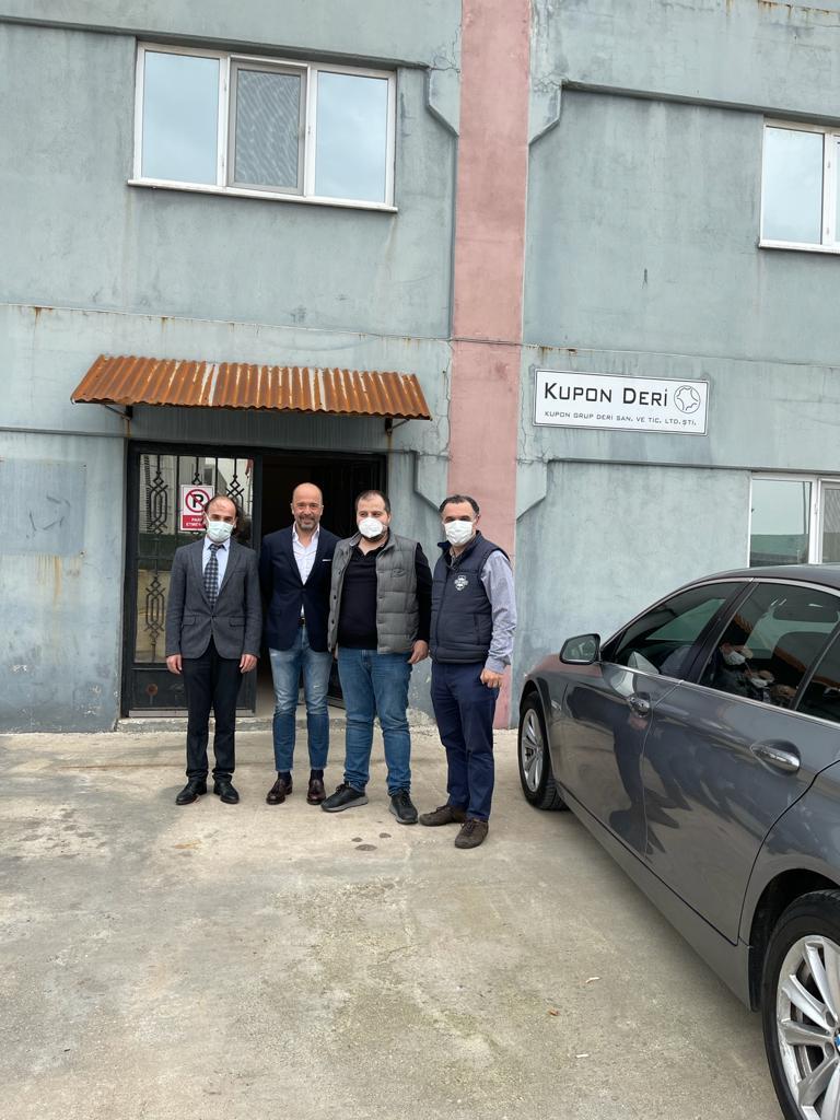 Türkiye Deri Sanayicileri Derneği olarak derneğimizin üye sayısını arttırmak amacıyla Bursa'da faaliyet gösteren Kupon Deri'ye ziyaret gerçekleştirdik