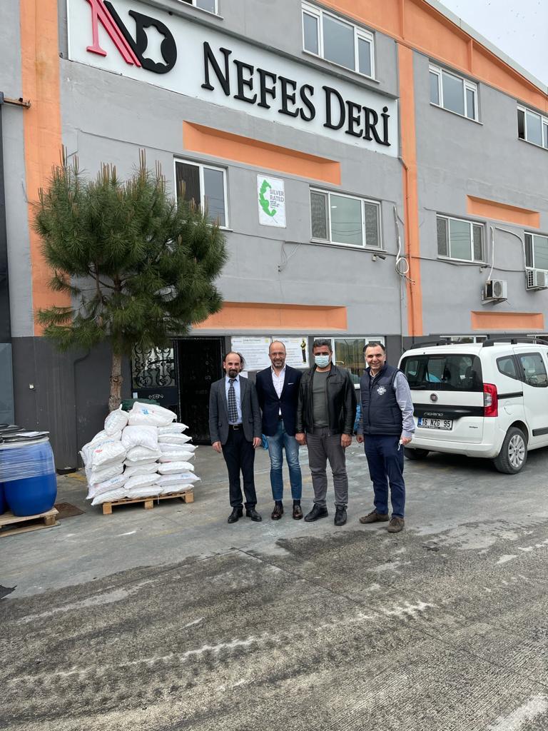 Türkiye Deri Sanayicileri Derneği olarak derneğimizin üye sayısını arttırmak amacıyla Bursa'da faaliyet gösteren Nefes Deri'ye ziyaret gerçekleştirdik
